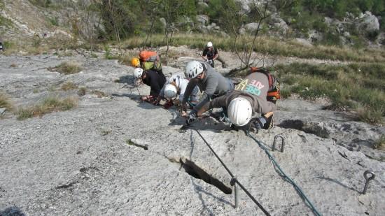 Einsteiger-Klettersteige-Arco-Gardasee-gefuehrt