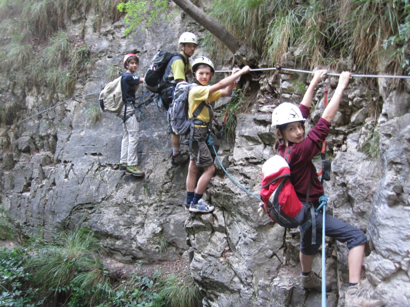Klettersteig Kinder : Kletterkurse fÜr kinder