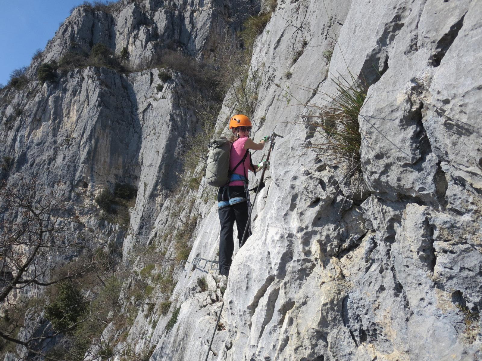 Klettersteige Gardasee : Tage geführte klettersteige am gardasee