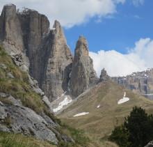 SELLATÜRME: alpine Kletterrouten in den Dolomiten