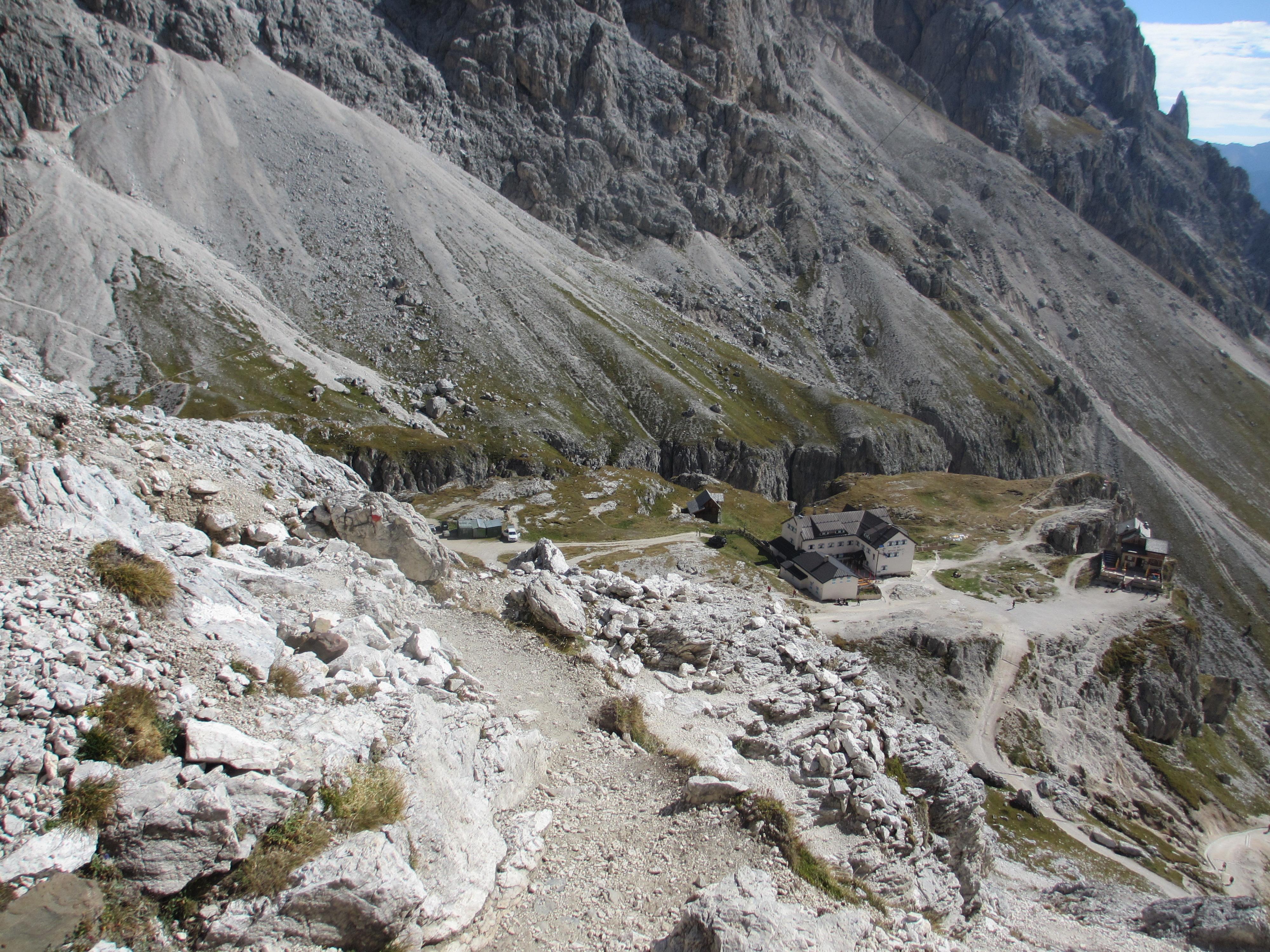 Klettersteig Rosengarten : Klettersteig durchquerung im rosengarten