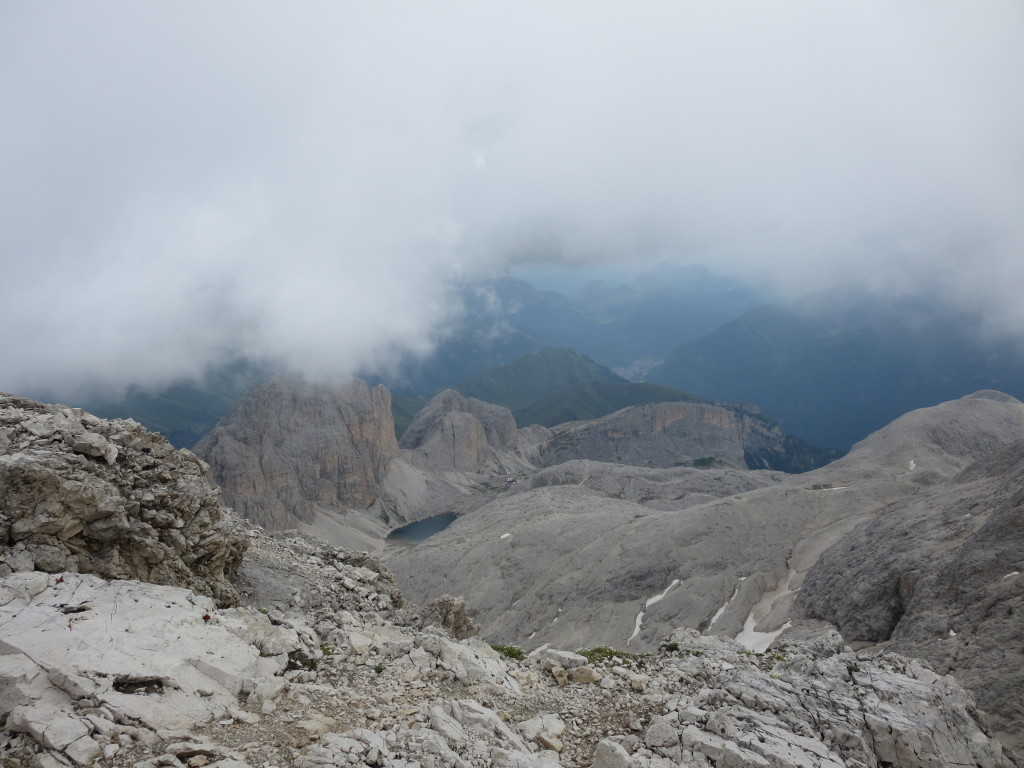 Klettersteig-Rosengarten-Dolomiten