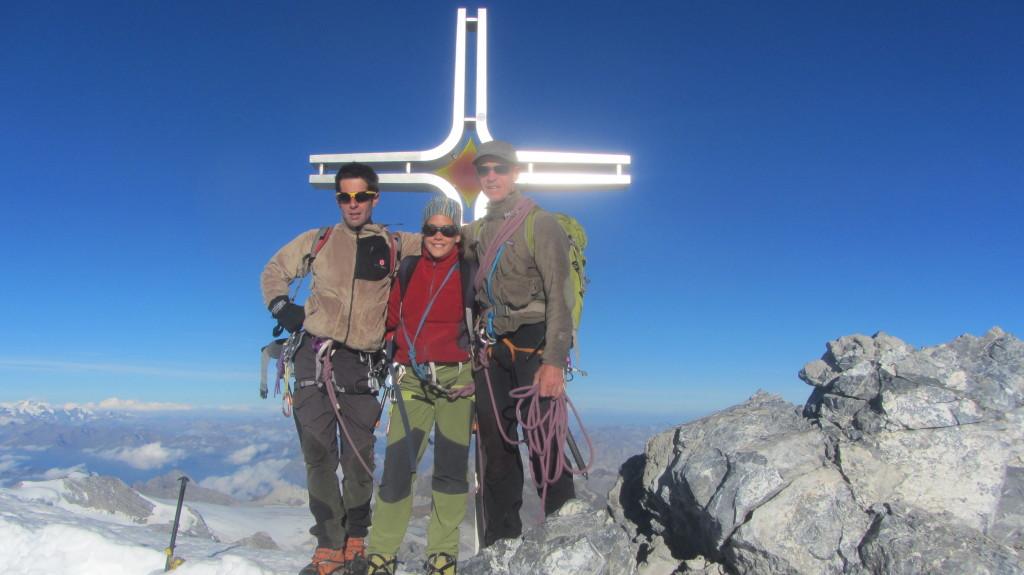 ORTLER 3905m - höchste Berg der Ostalpen