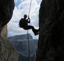 Kletterkurs-alpin-Dolomiten-Sella