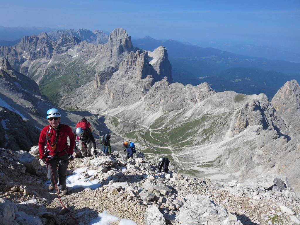 Klettersteig Kesselkogel Rosrengarten
