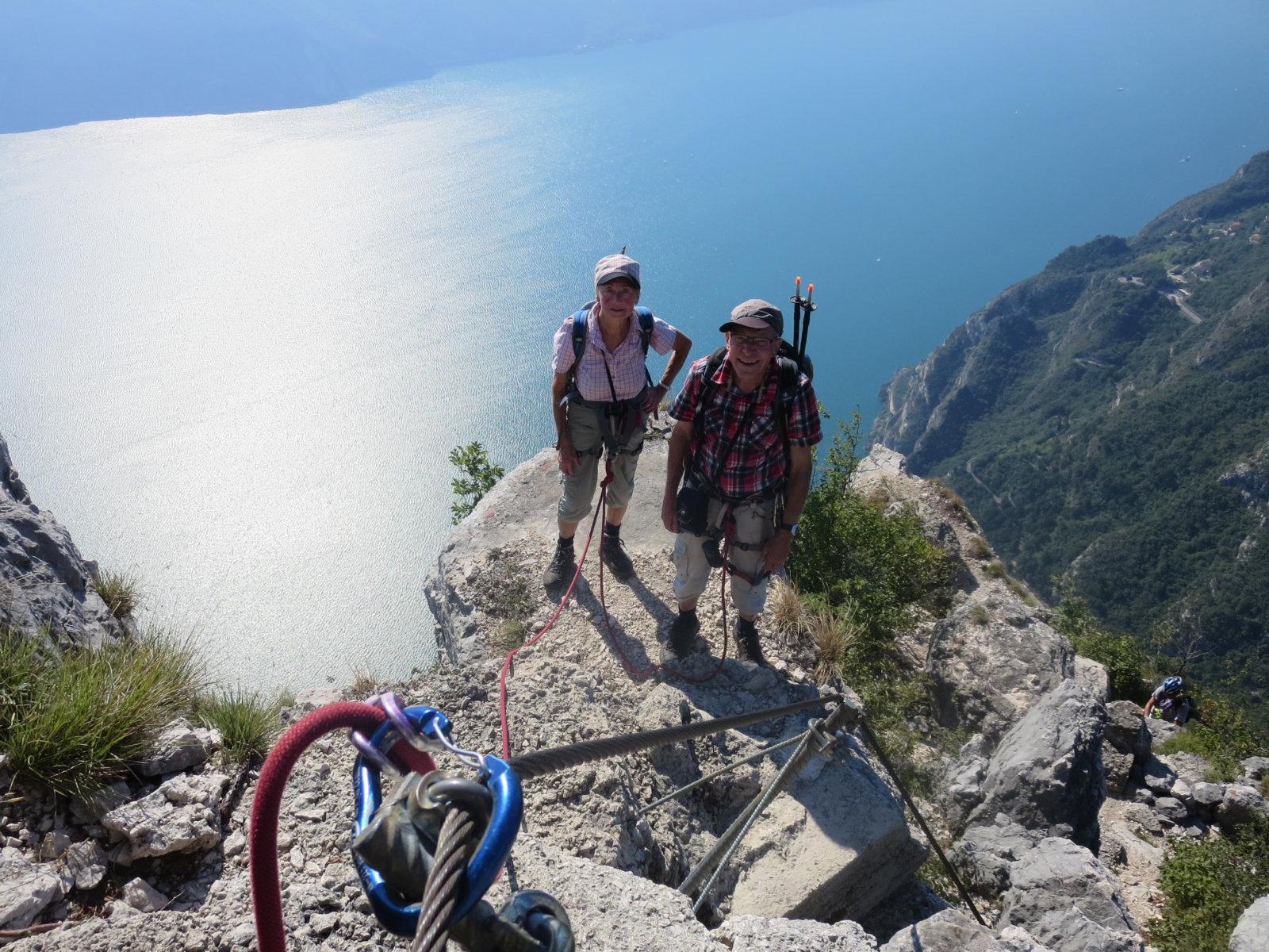 Klettersteig Gardasee : 3 tage geführte klettersteige am gardasee