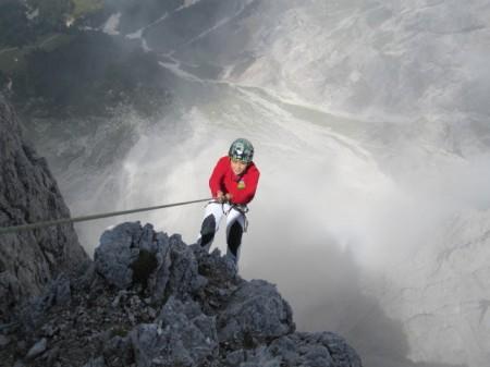 abseilen-klettertour-Vajolet-Rosengarten