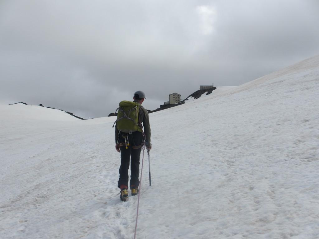 CEVEDALE 3770 m - ein beliebtes Gletschertouren - Ziel