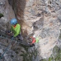 Klettersteig-Groeden-Dolomiten
