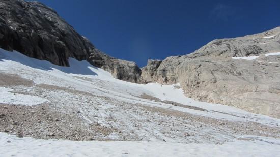 Klettersteig auf die Marmolata mit Bergführer