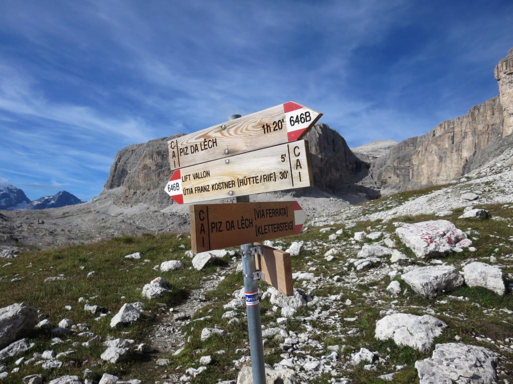 Vallon Klettersteig : Klettern klettersteige