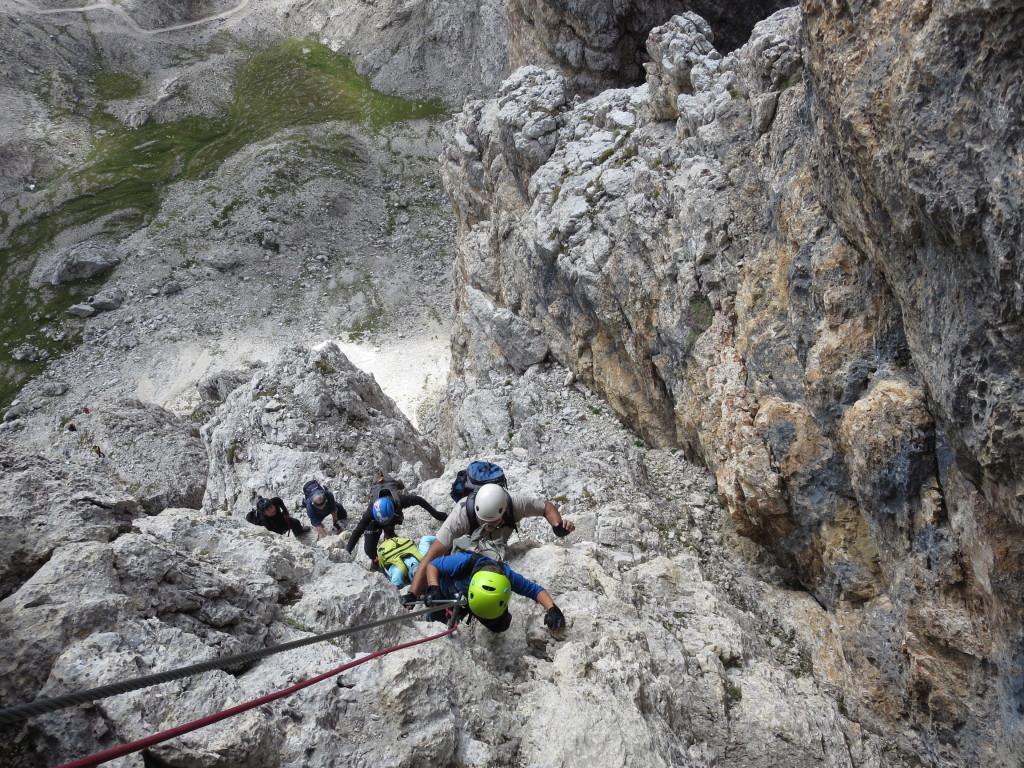 Klettersteig-Dolomiten-Piz da Lech