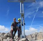 Klettersteig Dolomiten Piz da Lech