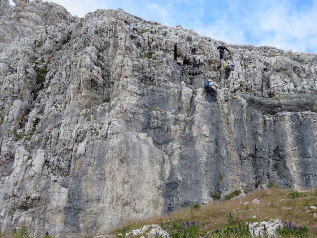 Klettersteig-Dolomiten-Gadertal-Piy-da-Lech