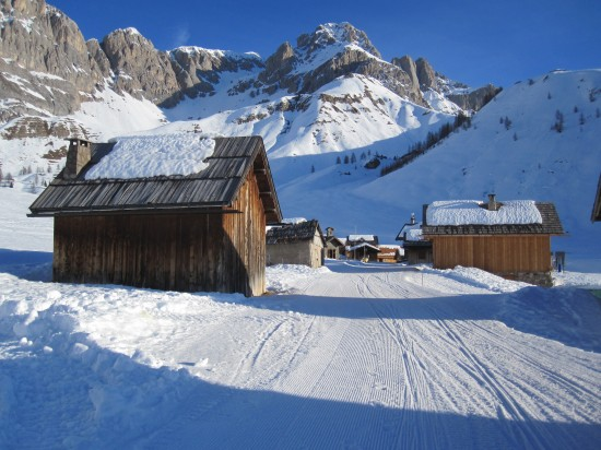 scheeschuhwandern-Fassatal-Pellegrinopass-Trentino