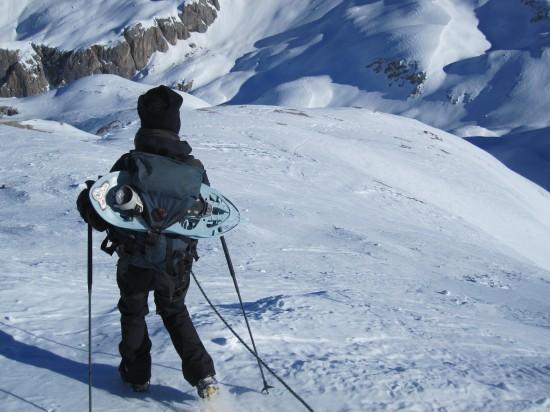 schneeschuhwanderung-Fassatal-Trentino