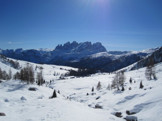wandern-winter-schneeschuhe-Dolomiten-Trentino