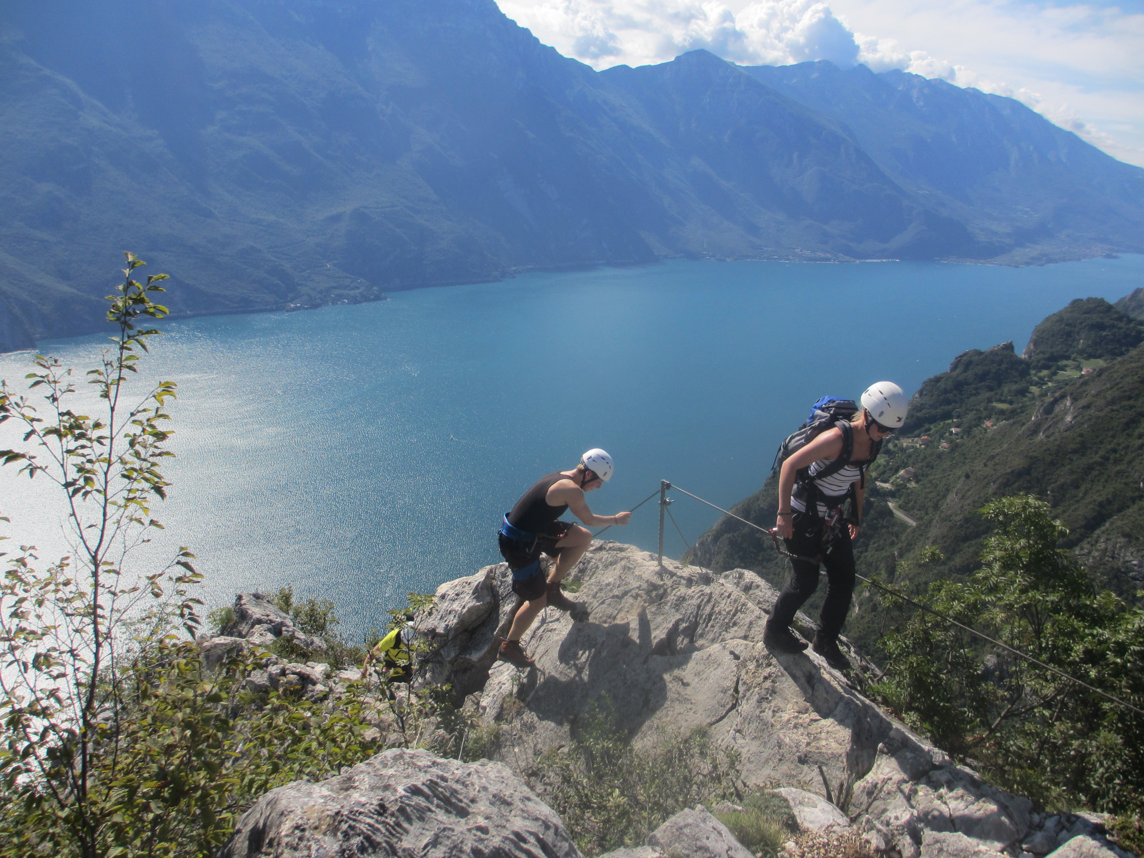 Klettersteig Gardasee : Klettersteig woche in arco am gardasee
