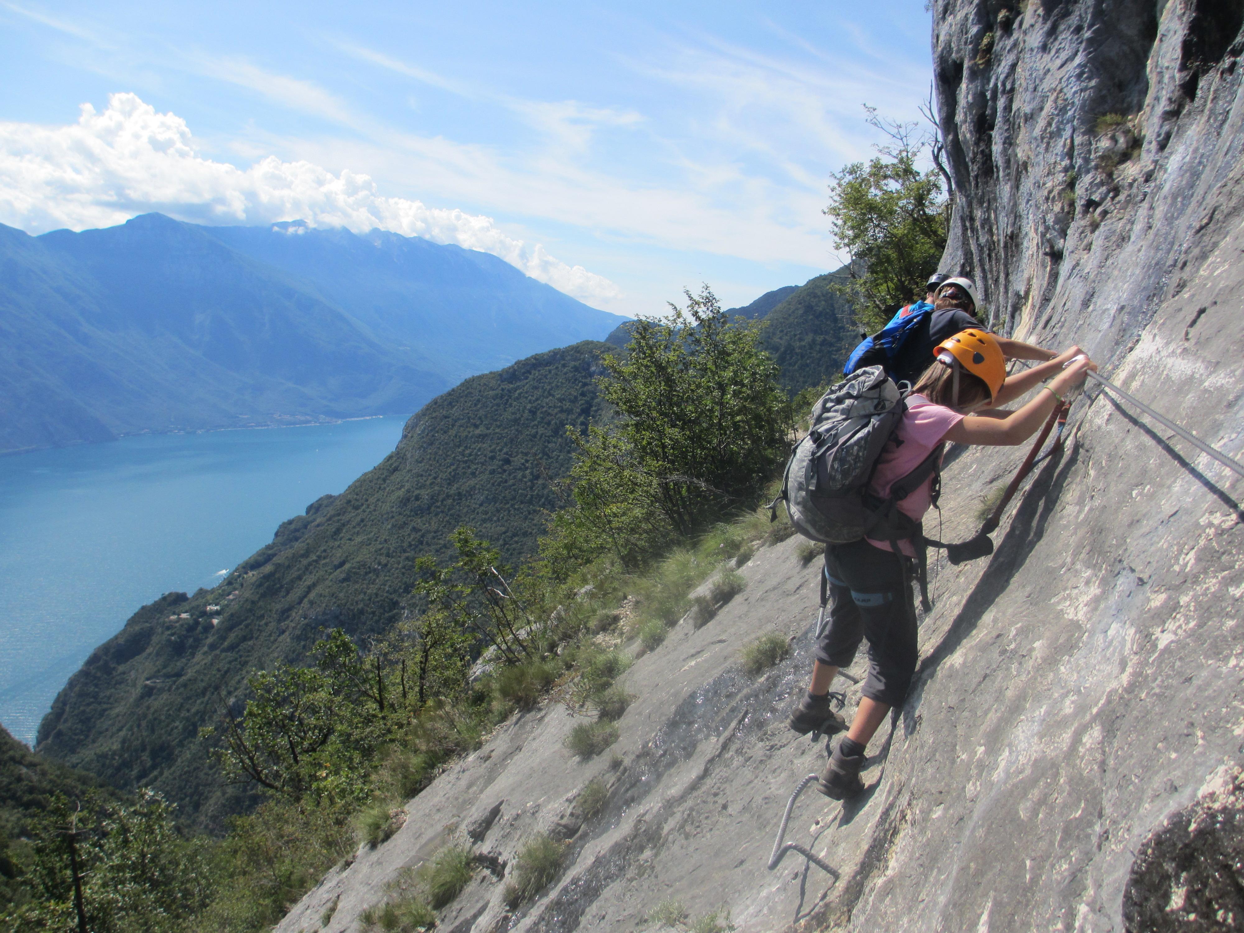 Klettersteig Cima Capi : Klettersteig woche in arco am gardasee
