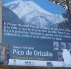 Vulkane Mexiko-Pico de Orizaba