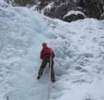 eisklettern Fassatal Dolomiten