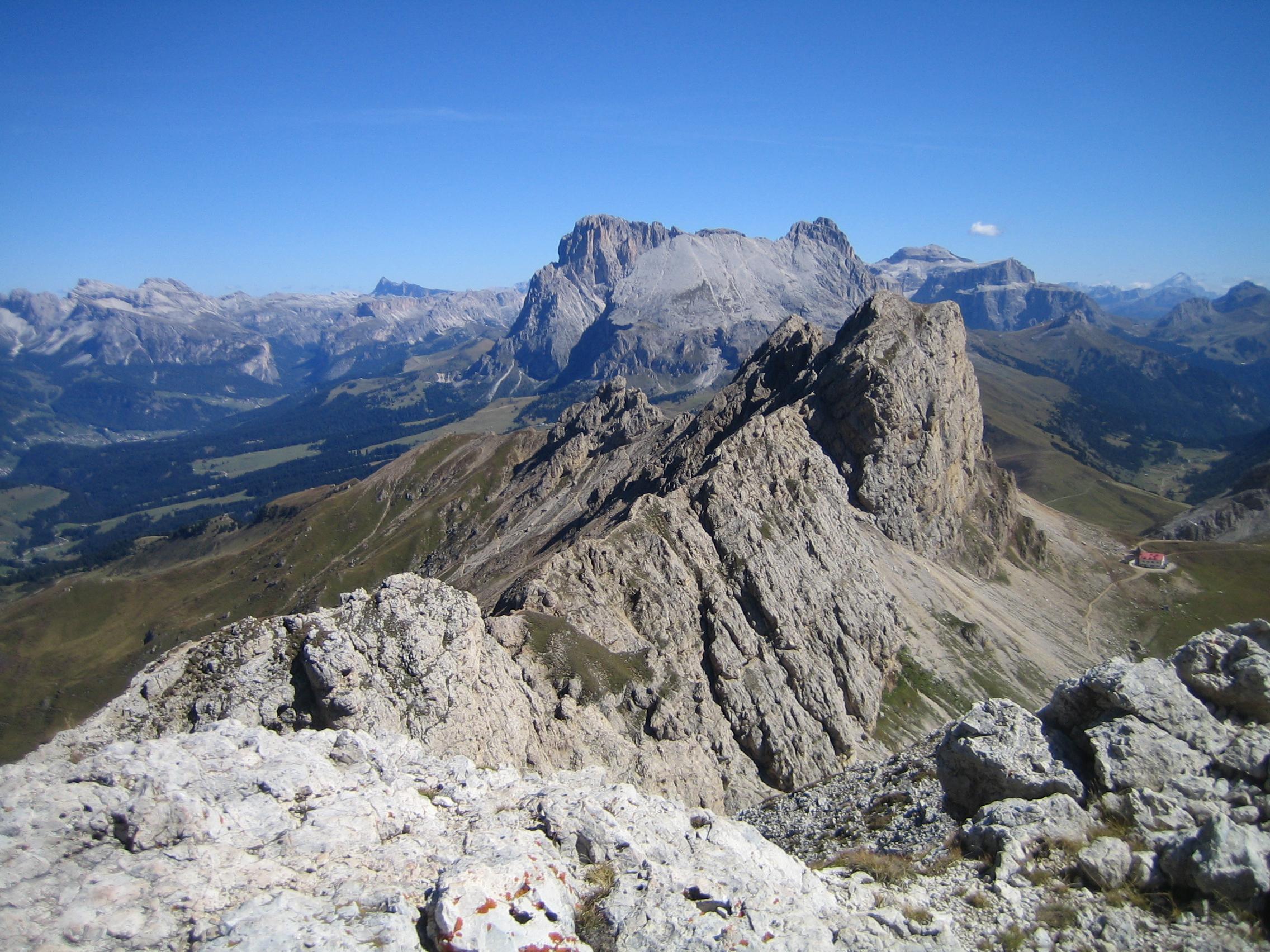 Klettersteig Plattkofel : Maximiliansteig klettersteig im rosengarten schlern