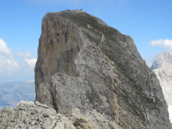 Klettersteig-Rotwand-Rosengarten