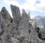 klettern Cinque Torri Dolomiten