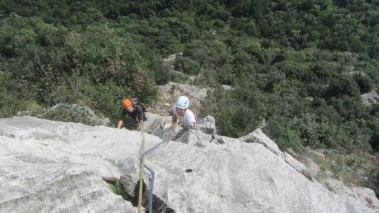 Arco: klettern am Gardasee