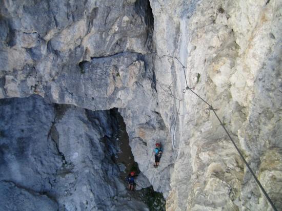 Klettersteig Magnifici Quattro : I magnifici 4 maerinsgipfel fassatal