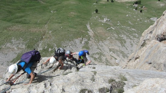 Col Rodella Klettersteig am Sellapass