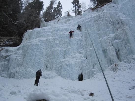 corso arrampicata cascate ghiaccio