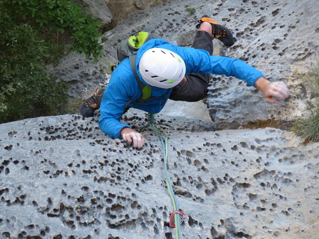 arrampicare nel Verdon