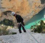 Klettern Verdon
