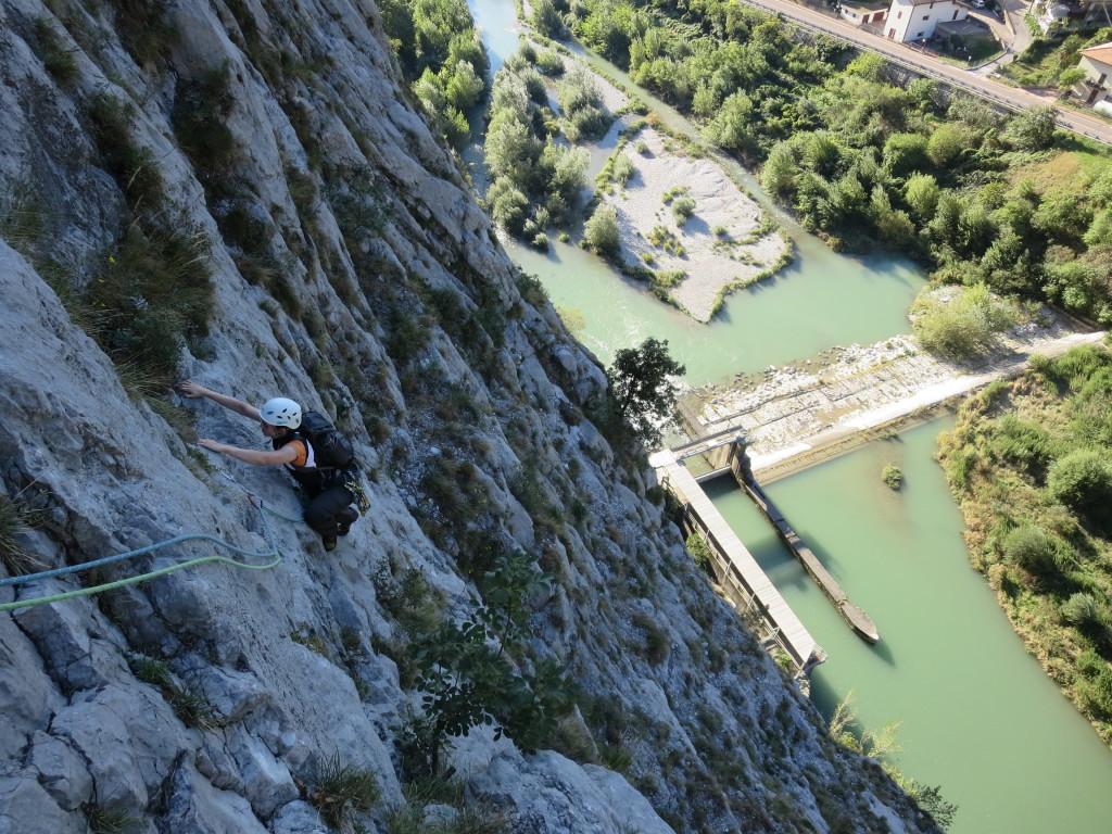 Klettern - Kurse und Mehrseillängen Arco Gardasee