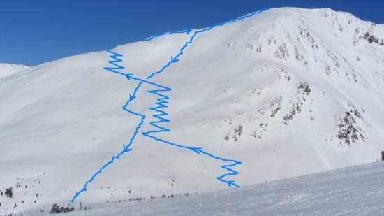 variantenfahren-skitour-Piegnerkopf-Nauders