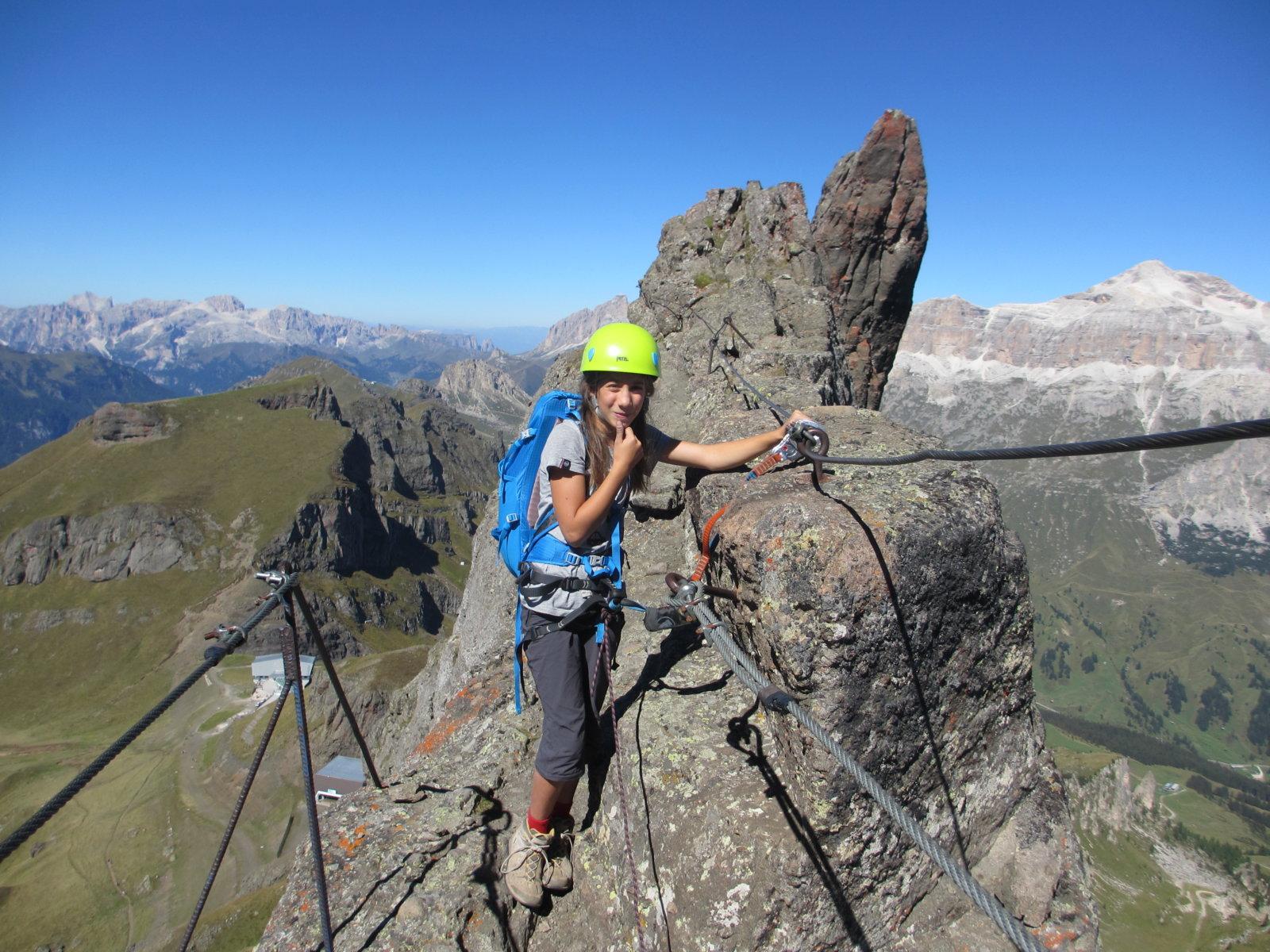 Klettersteig Dolomiten : Klettersteig via ferrata delle trincee marmolada