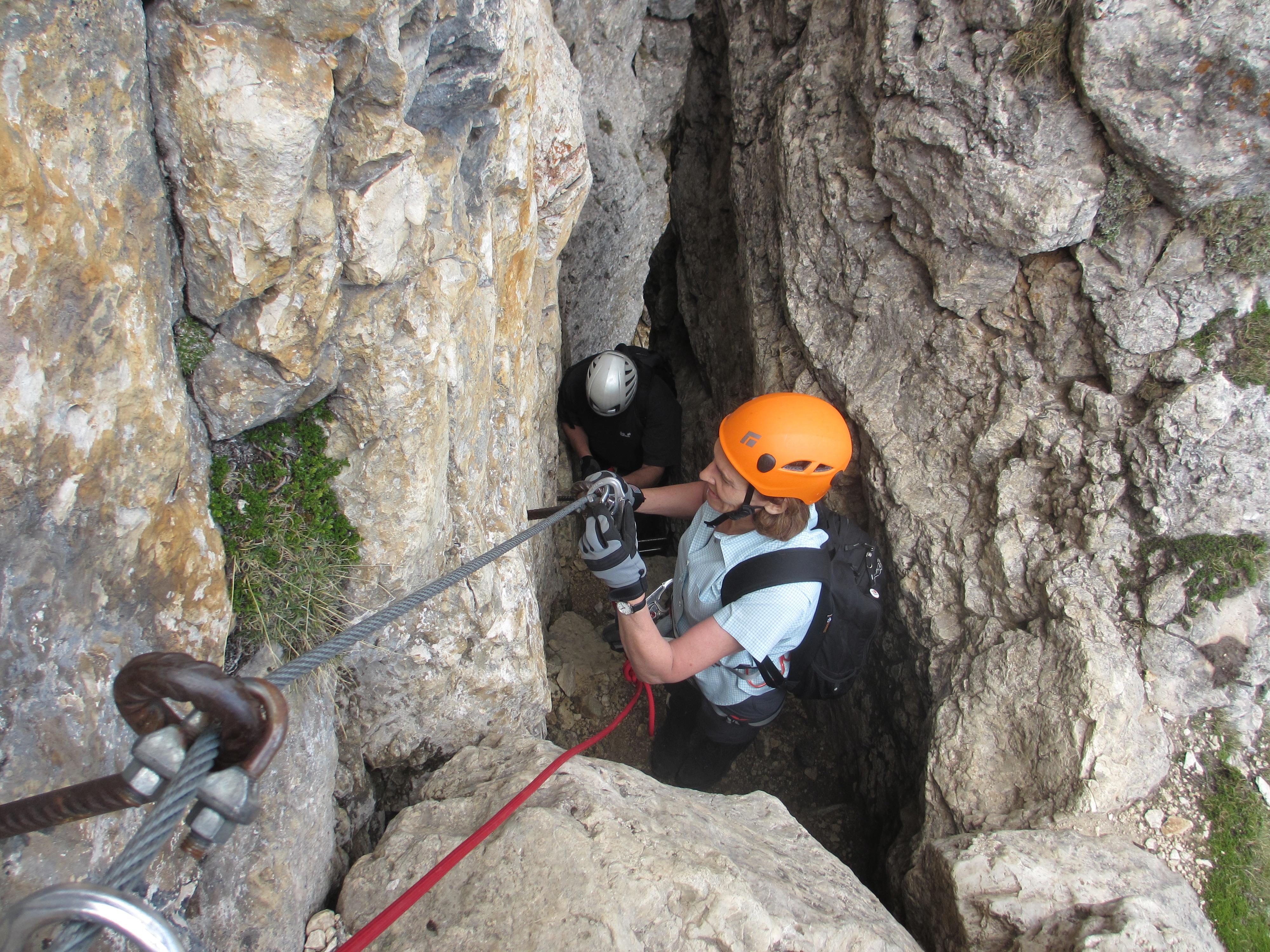 Klettersteig Equipment : Welches ist der perfekte rucksack für den klettersteig und was