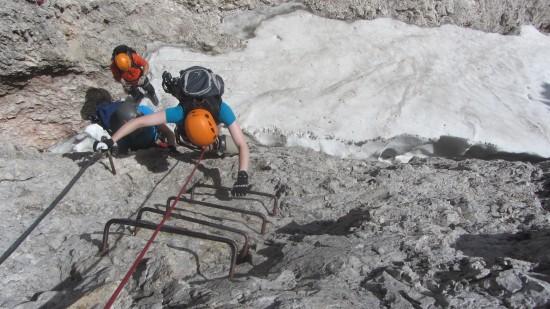 Klettersteig-SassRigais-Gröden-Dolomiten