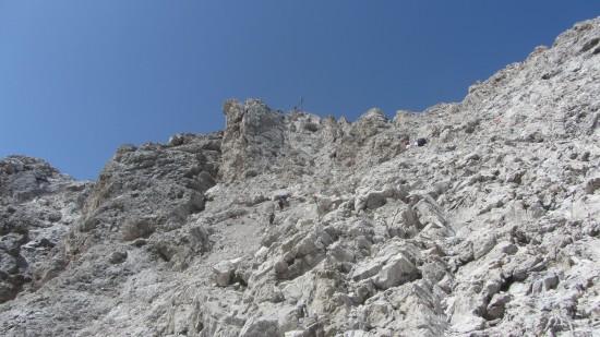Gipfelkreuz-Sass Rigais-dolomiten