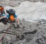 Klettersteig Sass Rigais Groeden Dolomiten