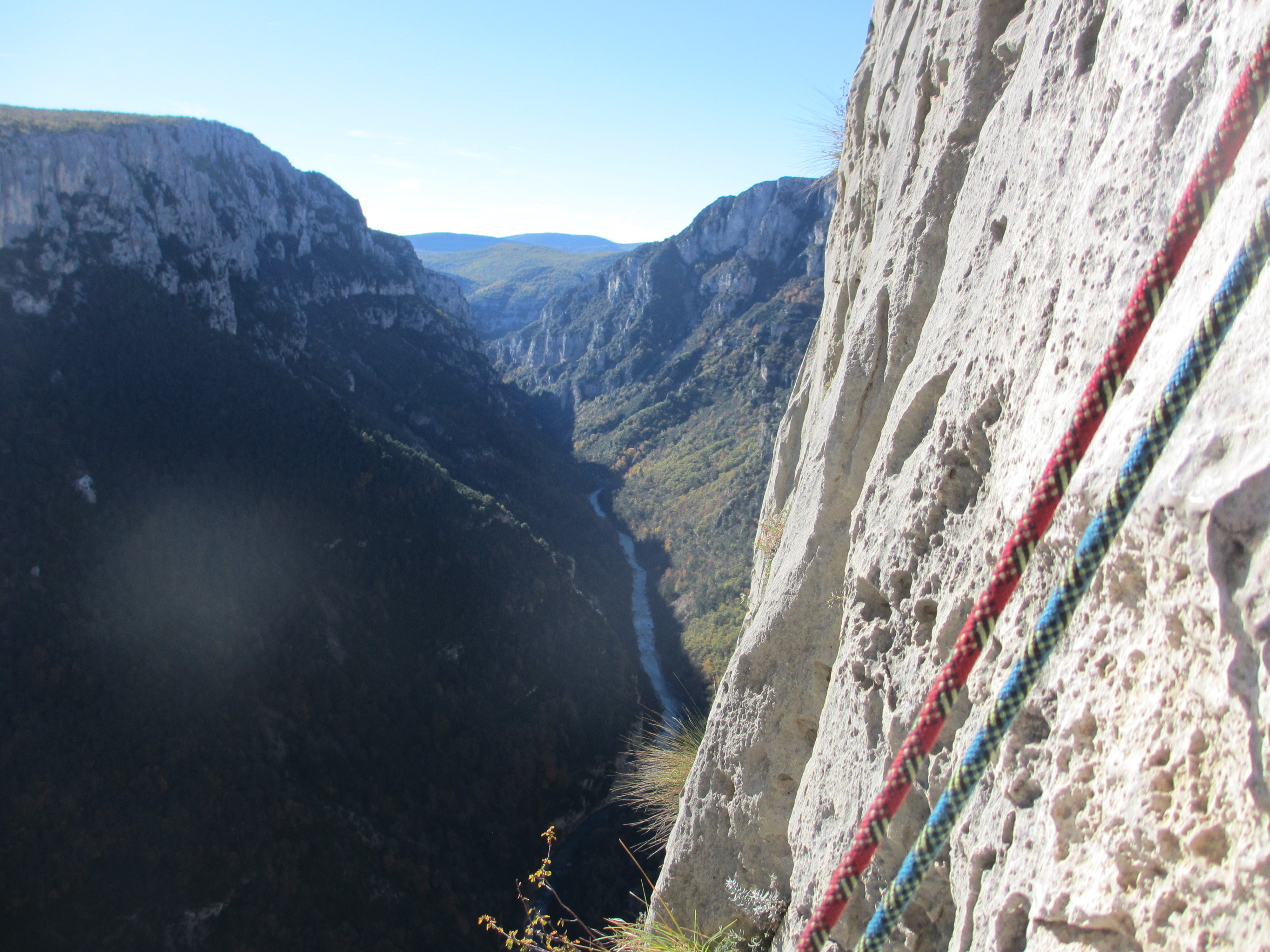 Klettersteig Verdon : Wandern genussklettern rund um den grand canyon du verdon