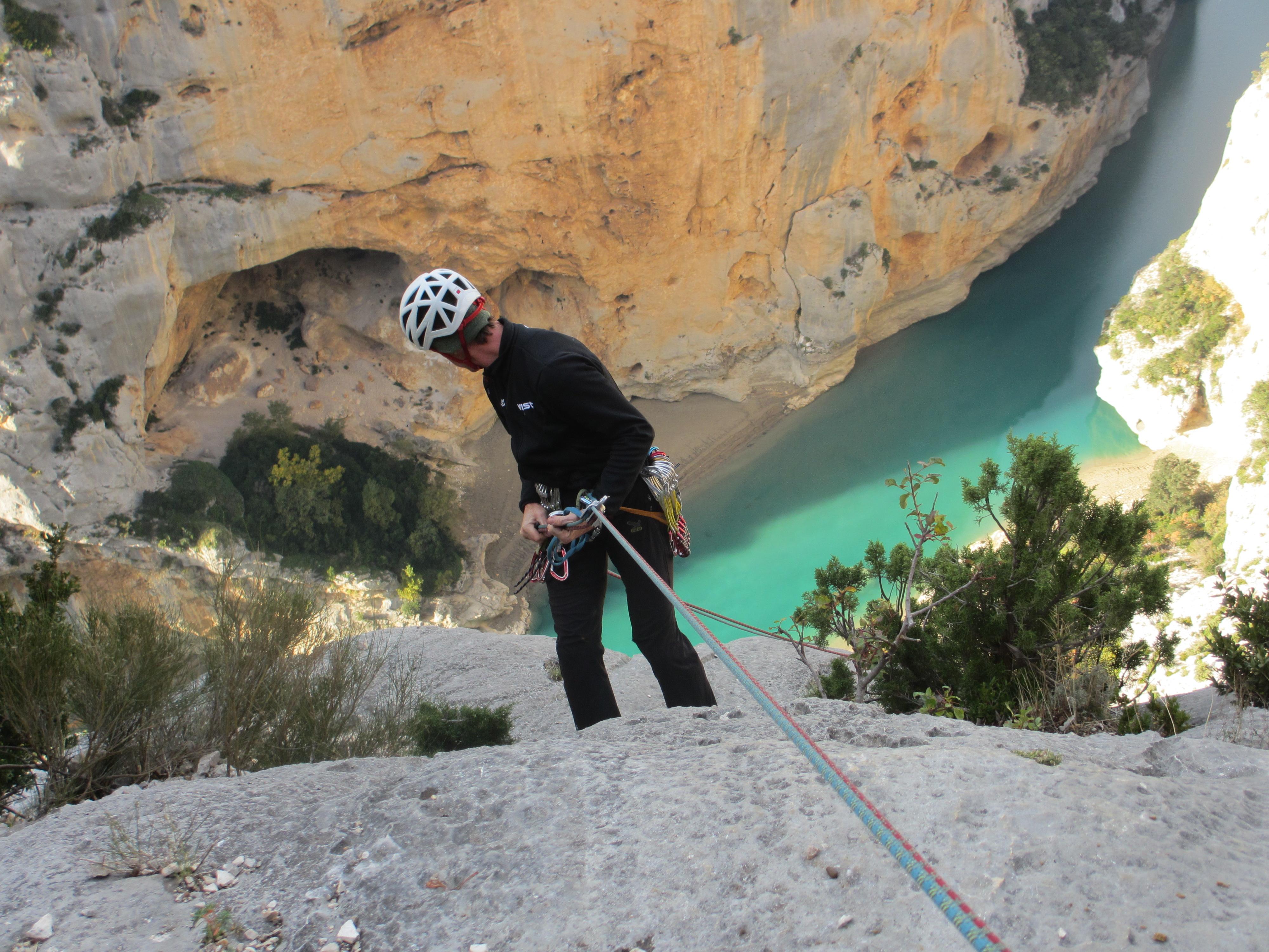 Kletterausrüstung Mehrseillängen : Mehrseillängen klettern mit klettertrip