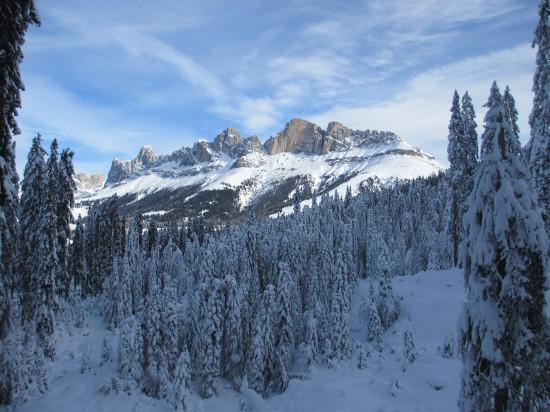 wandern-rosengarten-dolomiten-schneeschuhwandern