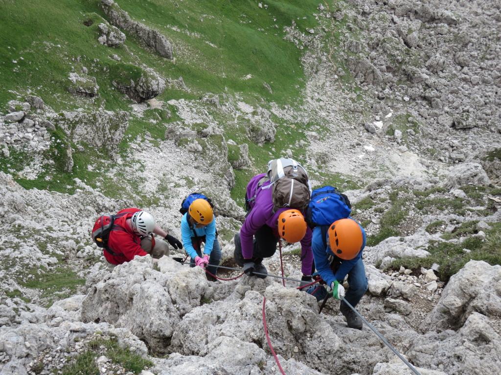 corso ferrata: Dolomiti - Arco - valle ADIGE
