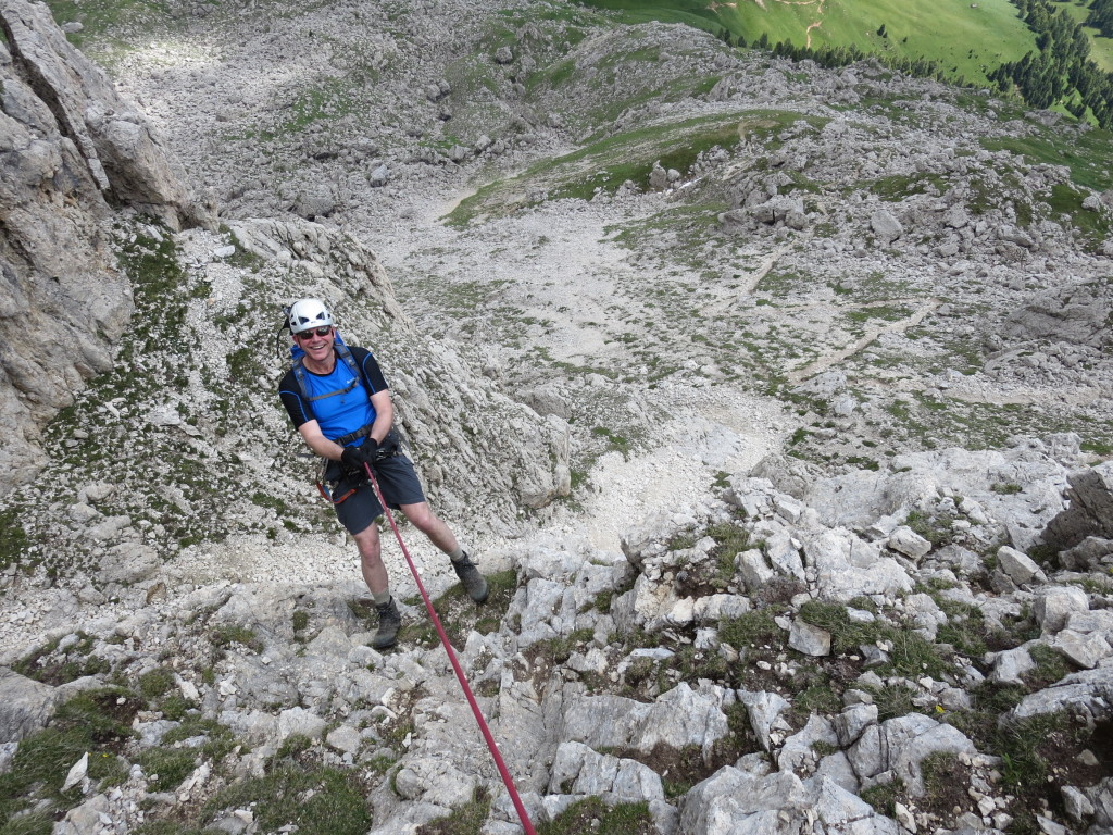 Klettersteigkurs-Dolomiten - Etschtal - Arco