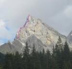Klettersteig-Fassatal-Col-Ombert-Dolomiten