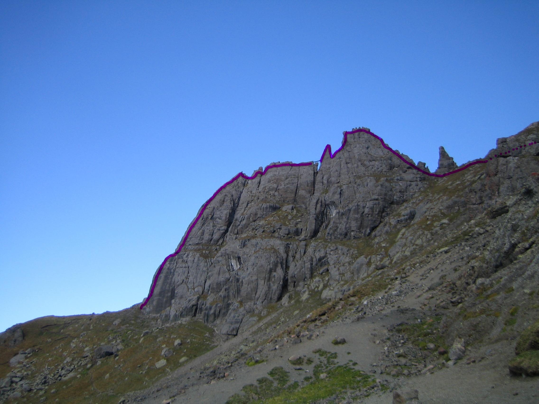 Klettersteig Via Ferrata : Klettersteig via ferrata in the zugspitz