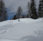 Tiefschnee-Freeride-Dolomiten
