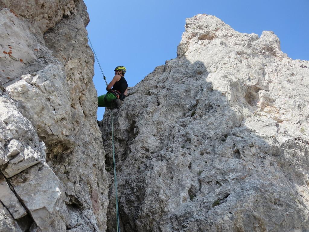 korrektes-Abseilen-Doppelseil-Alpin-Kletterkurs
